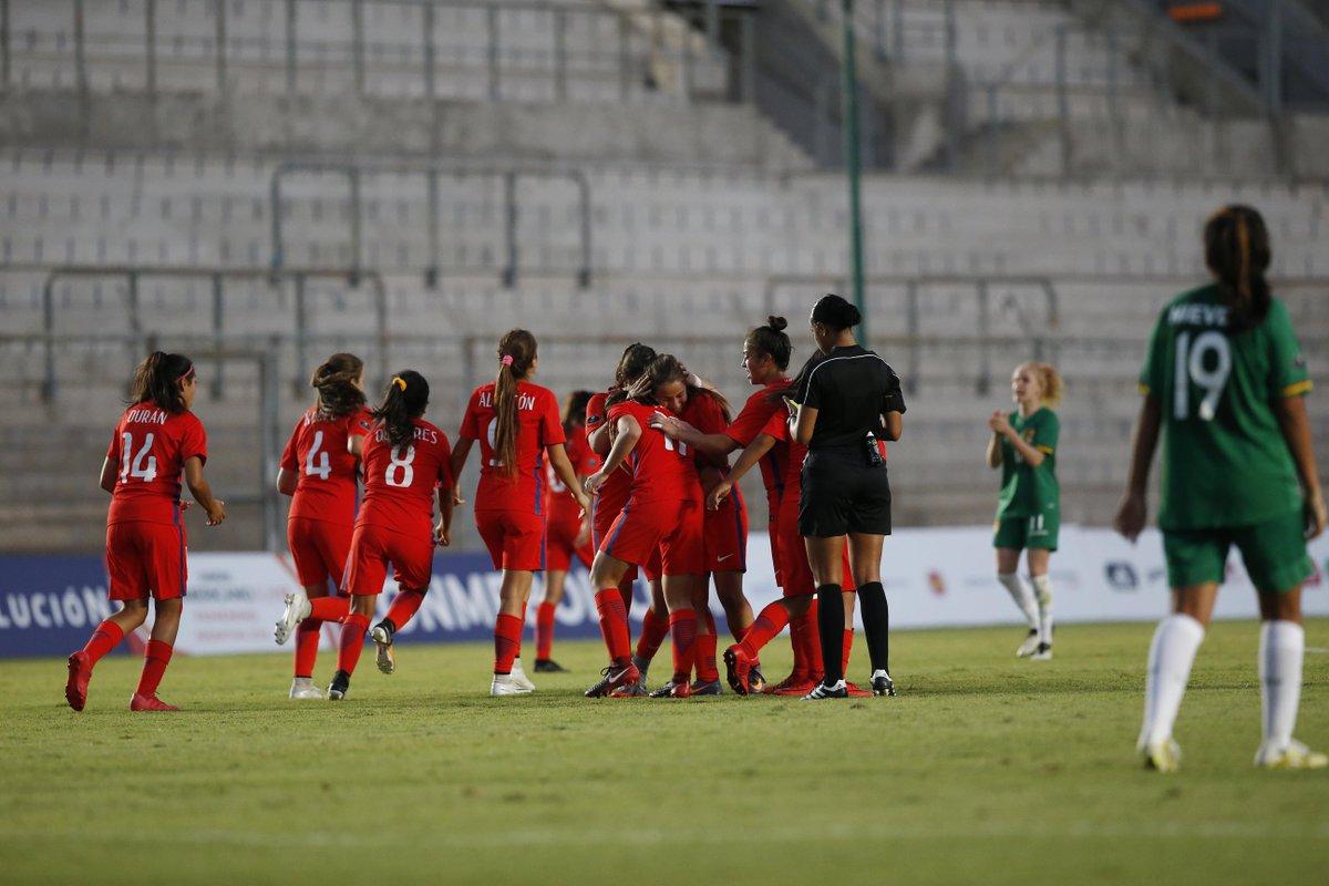 La Roja Femenina logró agónico triunfo ante Bolivia y se ilusiona en ...