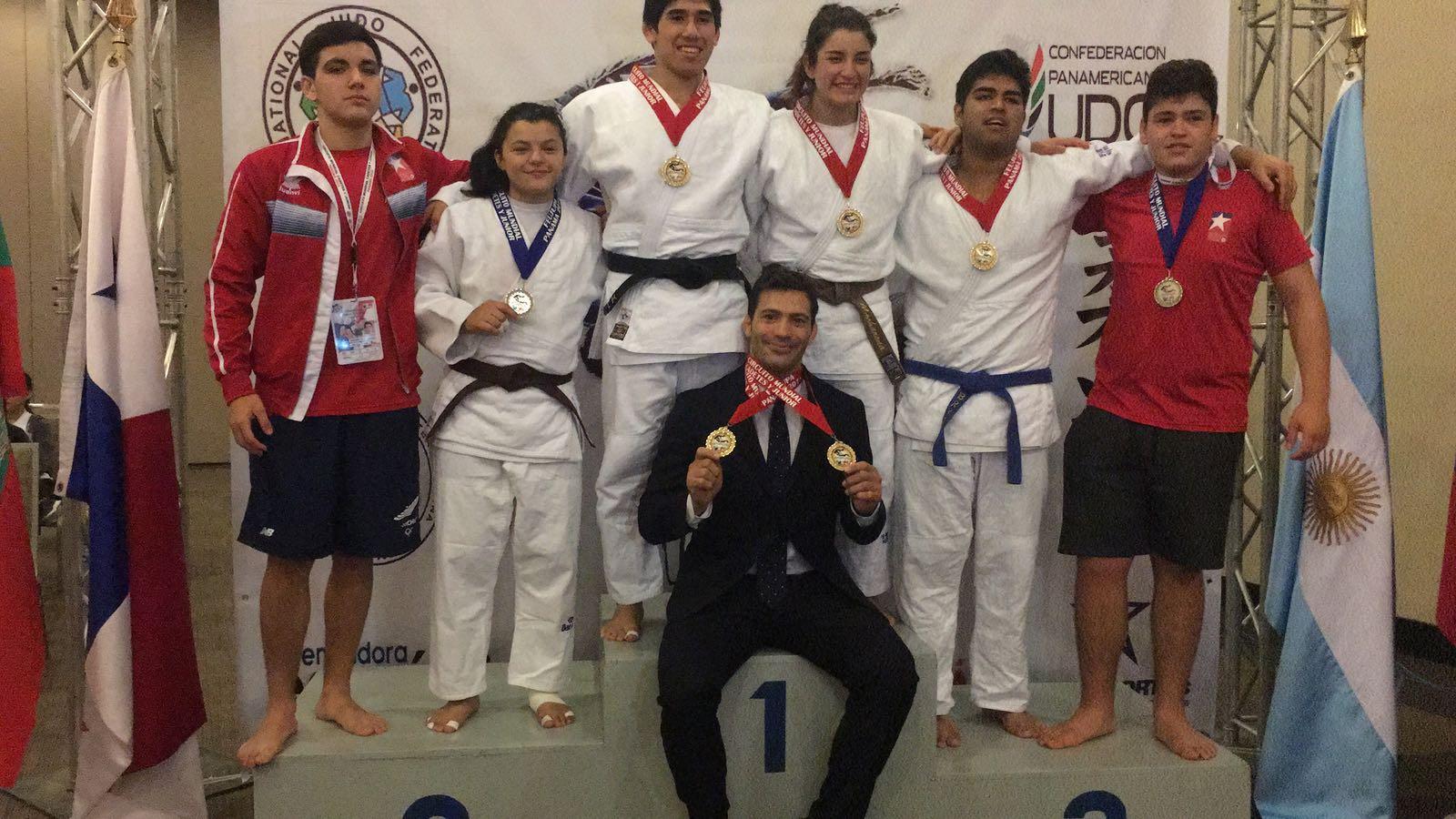 Judo: Team Chile logró tres medallas de oro y dos de plata en ...