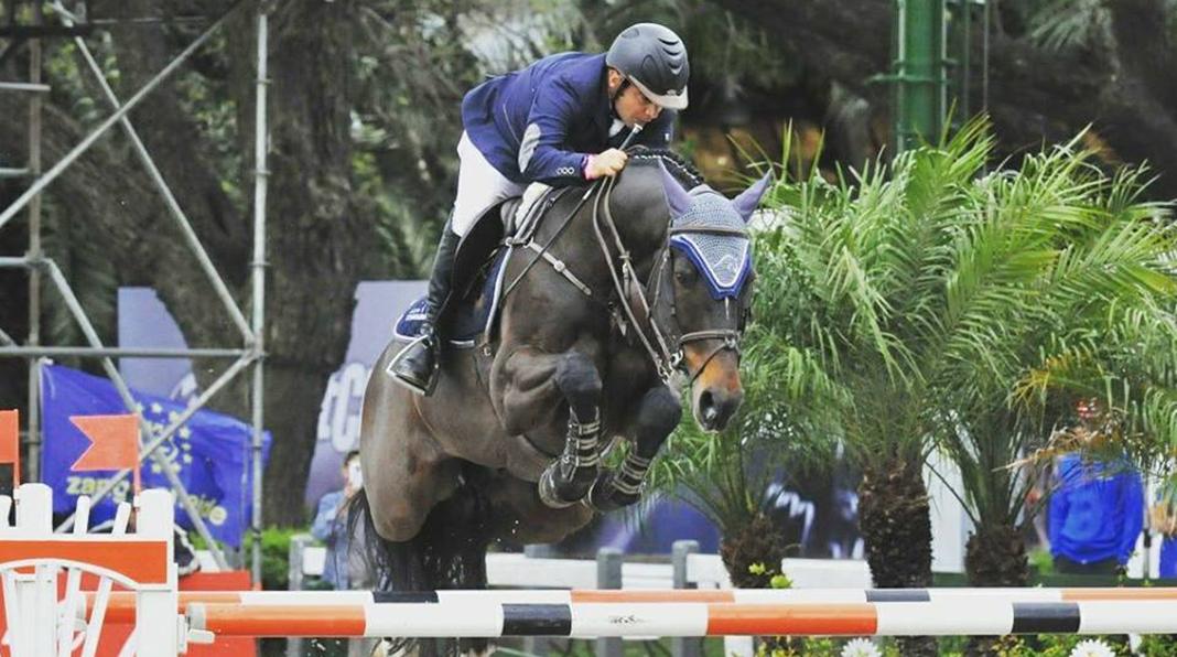 Equitación: Agustín Covarrubias logró doble triunfo en Gran Premio ...