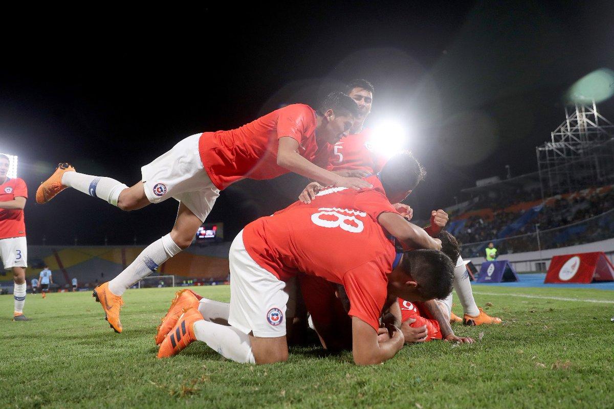 Chile Sub 20 logró histórico oro en los Juegos Suramericanos tras ...