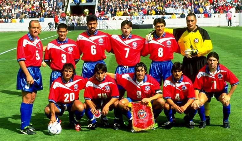 Resultado de imagen para 1998 La Selección Chilena participa en el Mundial de Francia
