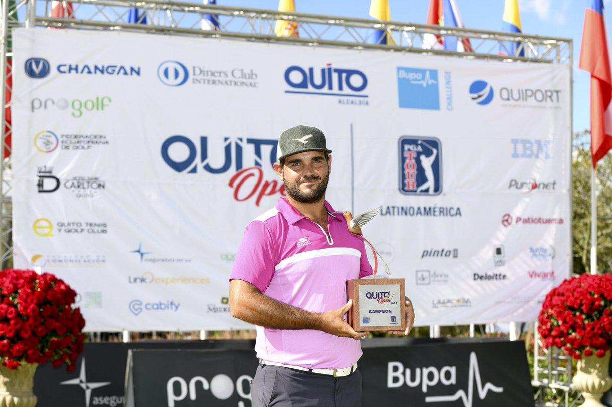 VIDEO   Golf: Horacio León ganó el Abierto de Quito y logró su ...